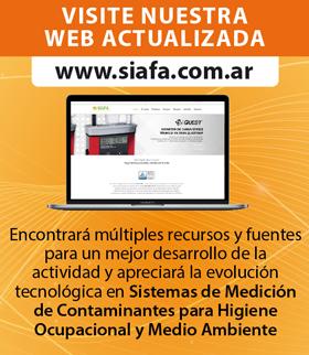 VISITE NUESTRA WEB ACTUALIZADA. www.siafa.com.ar